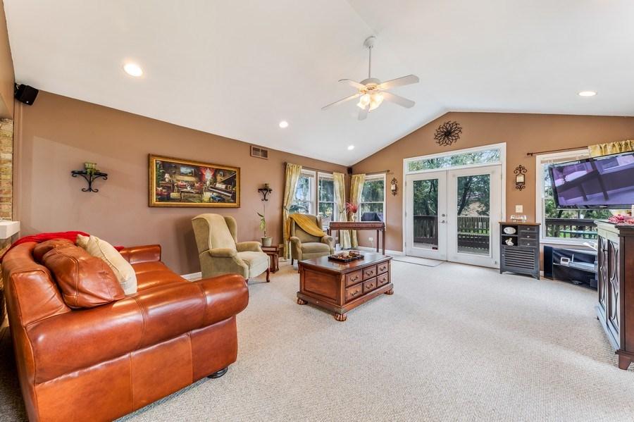 Real Estate Photography - 409 E. HILLSIDE Road, Naperville, IL, 60540 - Family Room