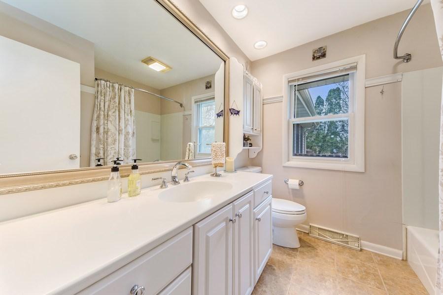 Real Estate Photography - 409 E. HILLSIDE Road, Naperville, IL, 60540 - Bathroom