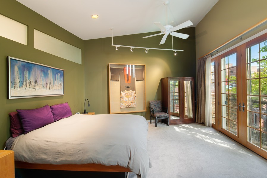 Real Estate Photography - 1037 North Wolcott Ave, Chicago, IL, 60622 - Master Bedroom