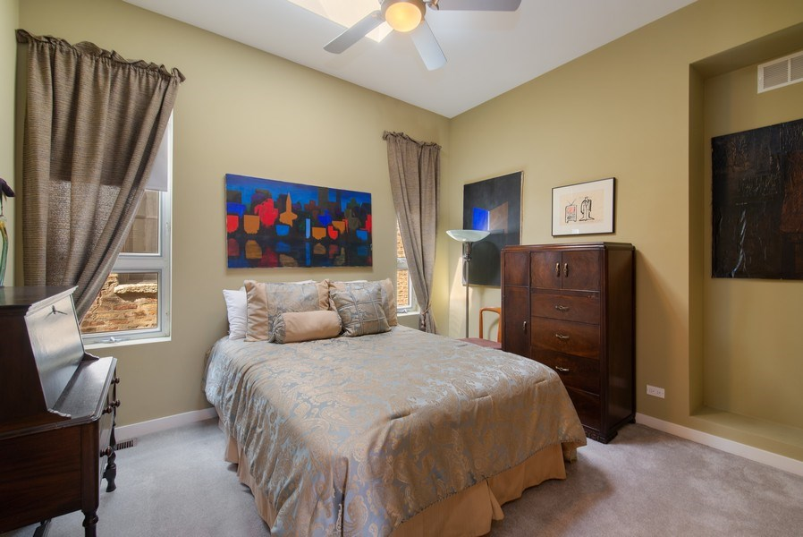 Real Estate Photography - 1037 North Wolcott Ave, Chicago, IL, 60622 - 2nd Bedroom