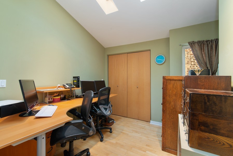 Real Estate Photography - 1037 North Wolcott Ave, Chicago, IL, 60622 - 3rd Bedroom