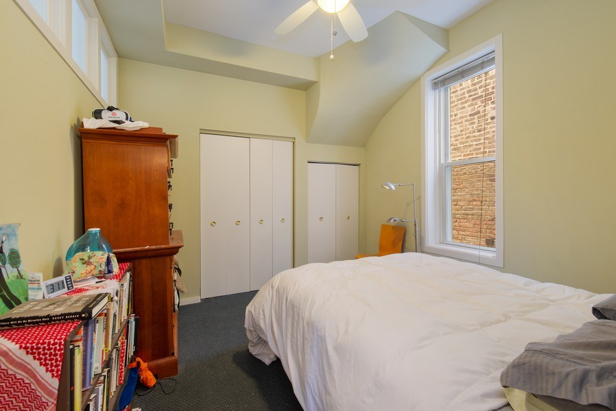 Real Estate Photography - 1037 North Wolcott Ave, Chicago, IL, 60622 - Bedroom