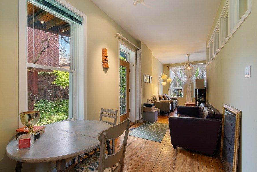 Real Estate Photography - 1037 North Wolcott Ave, Chicago, IL, 60622 - Dining Room