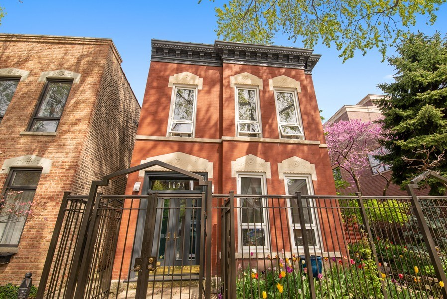 Real Estate Photography - 1037 North Wolcott Ave, Chicago, IL, 60622 - Front View