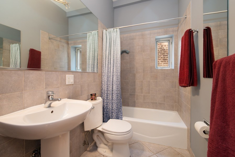 Real Estate Photography - 1037 North Wolcott Ave, Chicago, IL, 60622 - 2nd Bathroom