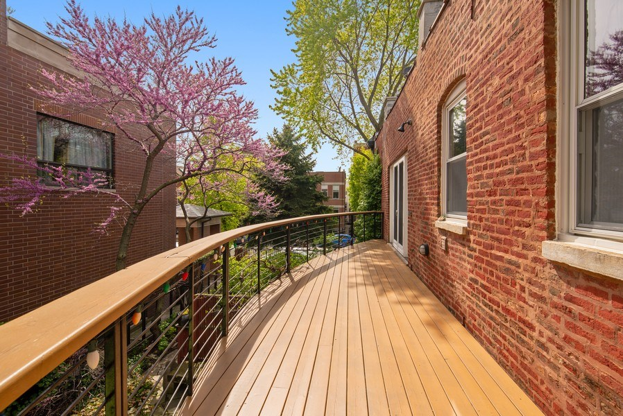 Real Estate Photography - 1037 North Wolcott Ave, Chicago, IL, 60622 - Balcony