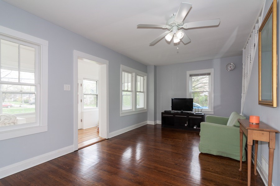 Real Estate Photography - 620 Maple Avenue, Downers Grove, IL, 60515 - Living Room
