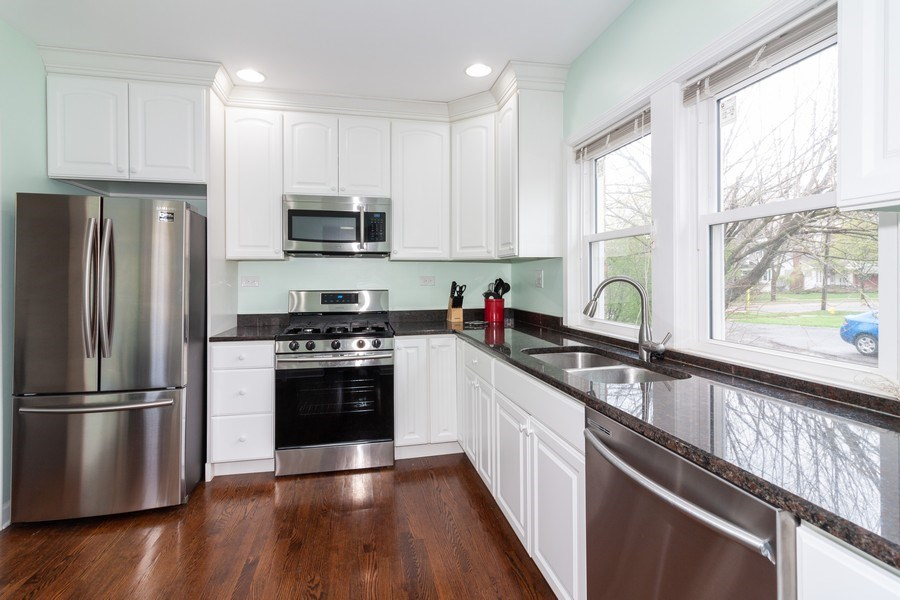 Real Estate Photography - 620 Maple Avenue, Downers Grove, IL, 60515 - Kitchen