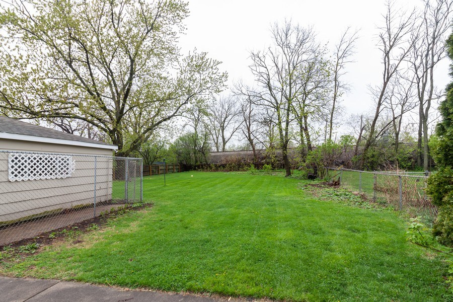 Real Estate Photography - 620 Maple Avenue, Downers Grove, IL, 60515 - Back Yard