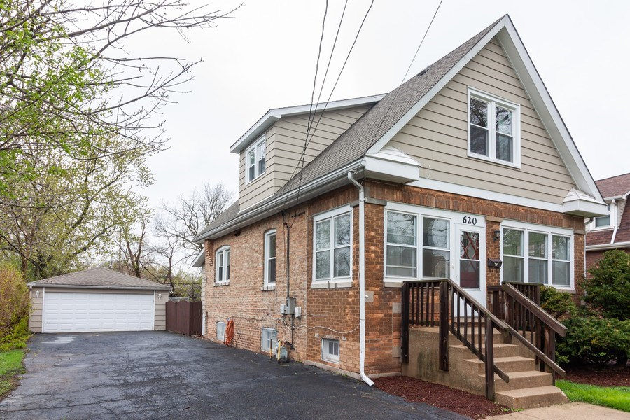 Real Estate Photography - 620 Maple Avenue, Downers Grove, IL, 60515 - Front View