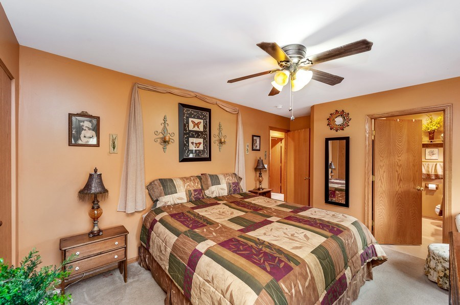 Real Estate Photography - 6809 Normandy Drive, Spring Grove, IL, 60081 - Master Suite