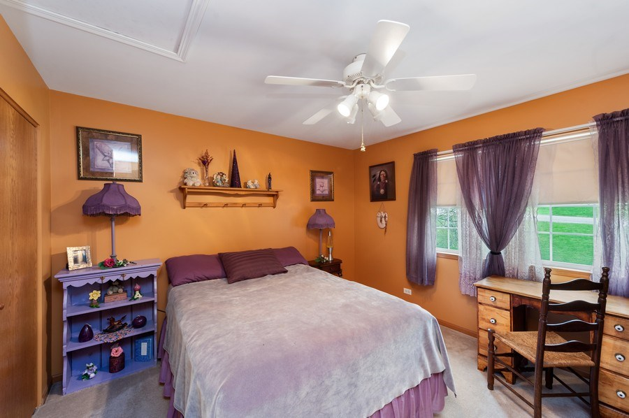 Real Estate Photography - 6809 Normandy Drive, Spring Grove, IL, 60081 - 2nd Bedroom