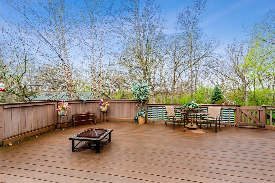 Real Estate Photography - 6809 Normandy Drive, Spring Grove, IL, 60081 - Deck