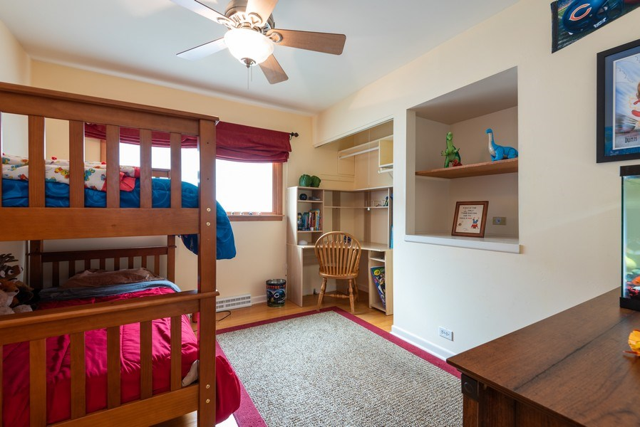 Real Estate Photography - 1754 Richfield Avenue, Highland Park, IL, 60035 - 3rd Bedroom