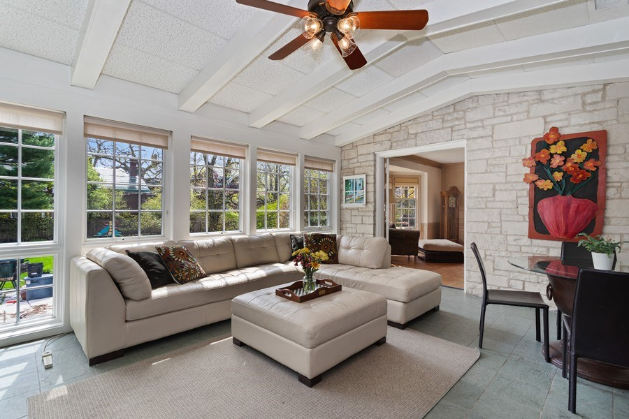 Real Estate Photography - 1727 Hinman Avenue, Evanston, IL, 60201 - Family Room