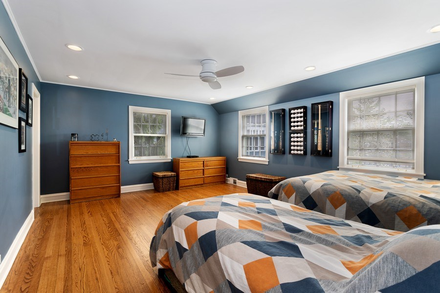 Real Estate Photography - 1727 Hinman Avenue, Evanston, IL, 60201 - 2nd Bedroom
