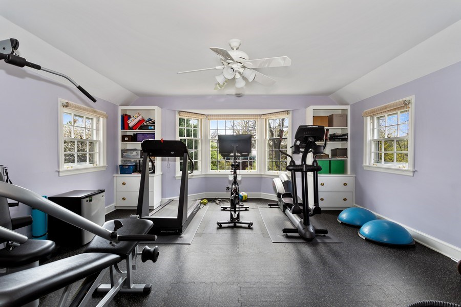 Real Estate Photography - 1727 Hinman Avenue, Evanston, IL, 60201 - Exercise Room