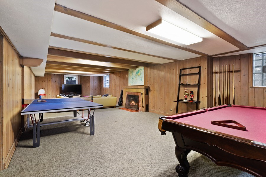 Real Estate Photography - 1727 Hinman Avenue, Evanston, IL, 60201 - Game Room