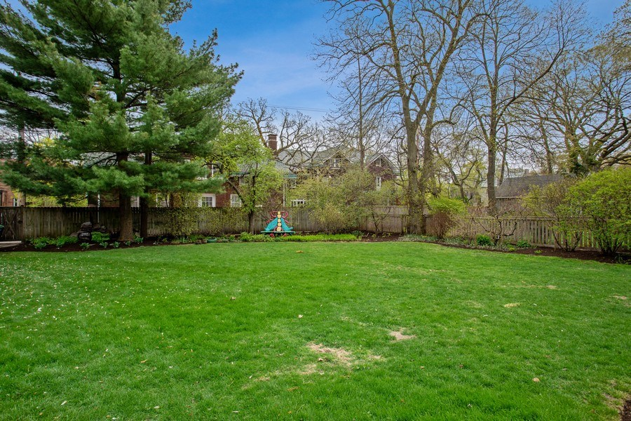 Real Estate Photography - 1727 Hinman Avenue, Evanston, IL, 60201 - Back Yard
