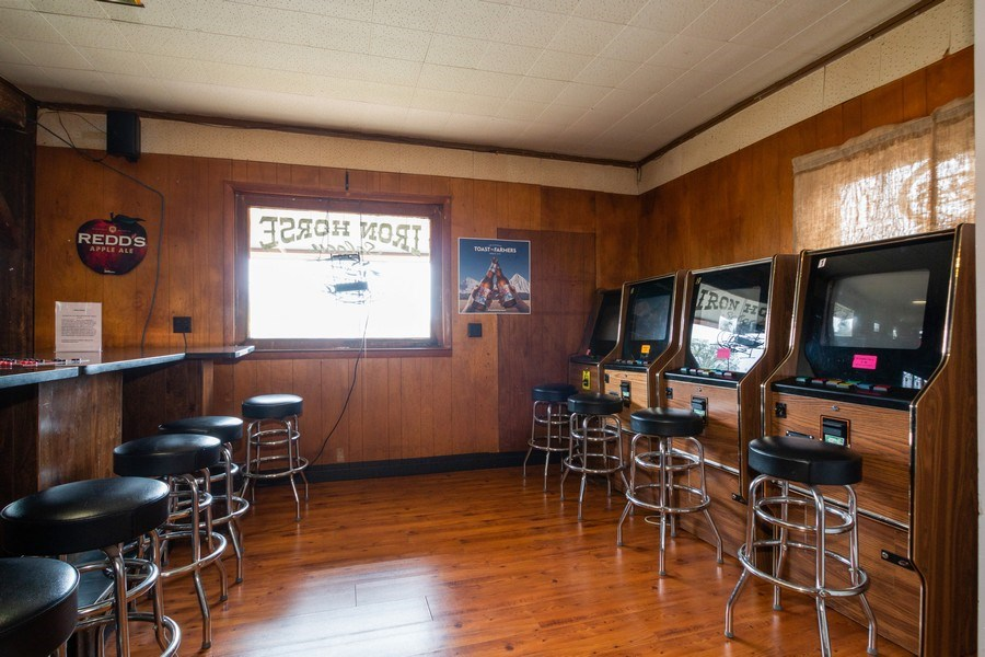 Real Estate Photography - 124 North St, Sharon, WI, 53585 - Gaming Machines