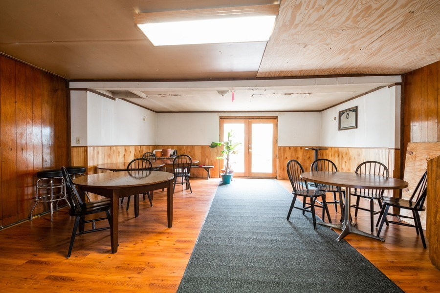Real Estate Photography - 124 North St, Sharon, WI, 53585 - Table Seating Area
