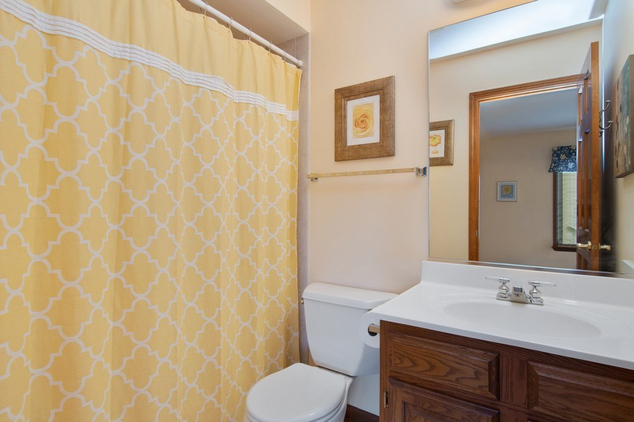 Real Estate Photography - 6308 Snead Court, Woodridge, IL, 60517 - 3rd Bathroom