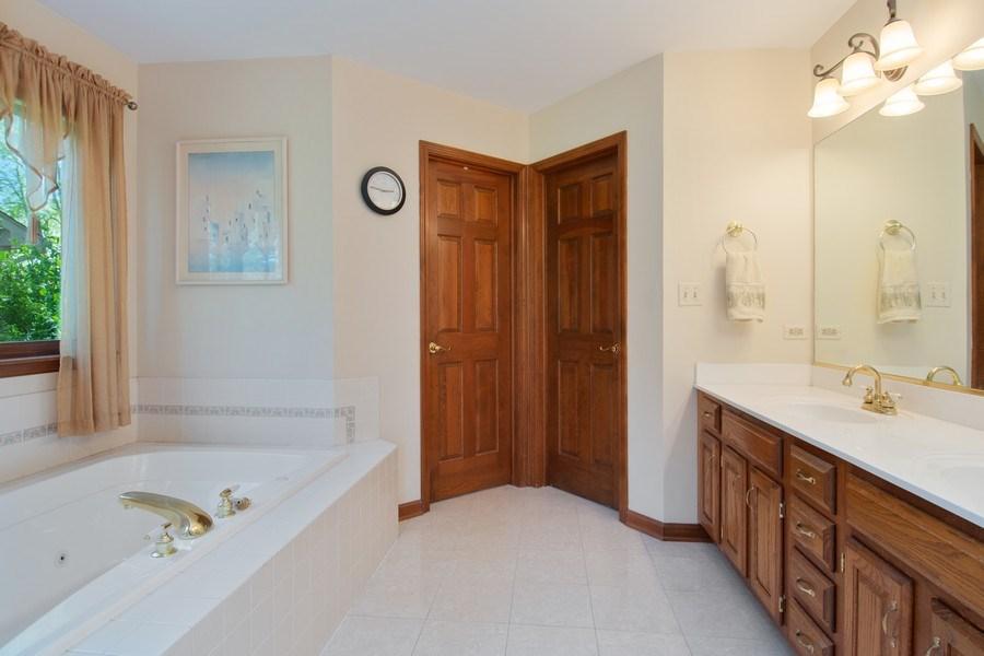 Real Estate Photography - 6308 Snead Court, Woodridge, IL, 60517 - Master Bathroom