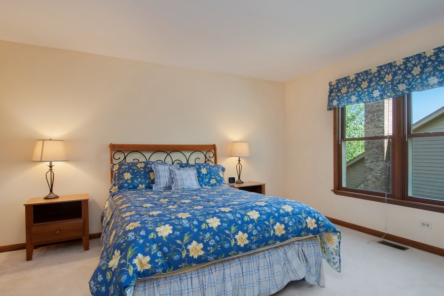Real Estate Photography - 6308 Snead Court, Woodridge, IL, 60517 - 4th Bedroom