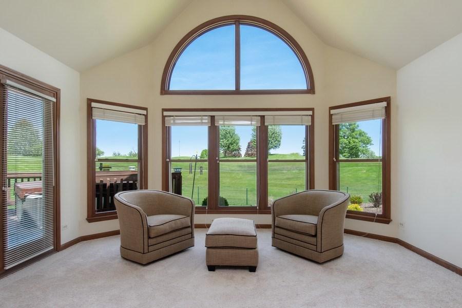 Real Estate Photography - 6308 Snead Court, Woodridge, IL, 60517 - Master Bedroom