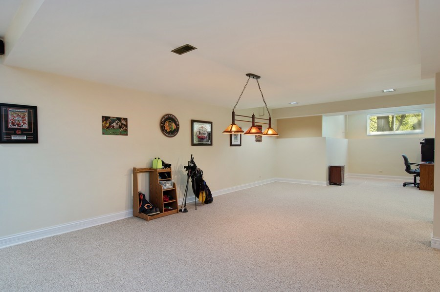 Real Estate Photography - 6308 Snead Court, Woodridge, IL, 60517 - Gameroom