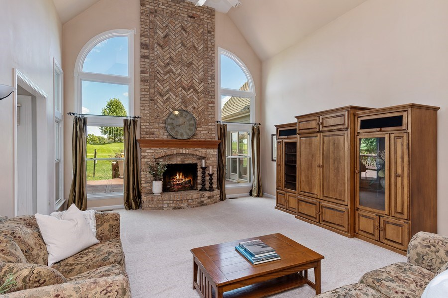Real Estate Photography - 6308 Snead Court, Woodridge, IL, 60517 - Family Room