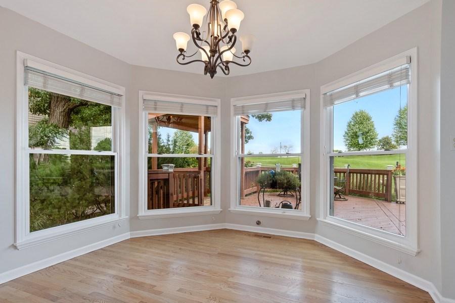 Real Estate Photography - 6308 Snead Court, Woodridge, IL, 60517 - Breakfast Area