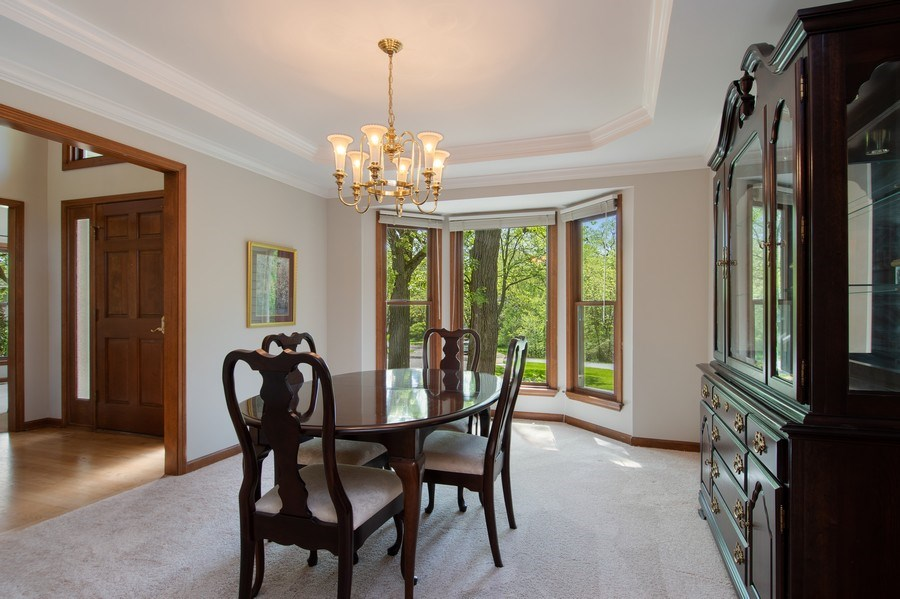 Real Estate Photography - 6308 Snead Court, Woodridge, IL, 60517 - Dining Area