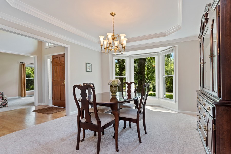 Real Estate Photography - 6308 Snead Court, Woodridge, IL, 60517 - Dining Room