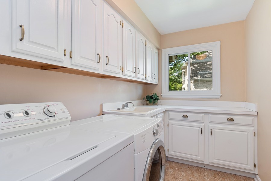 Real Estate Photography - 6308 Snead Court, Woodridge, IL, 60517 - Laundry Room