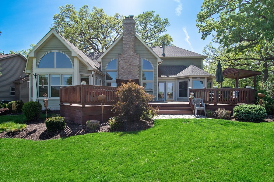 Real Estate Photography - 6308 Snead Court, Woodridge, IL, 60517 - Rear View