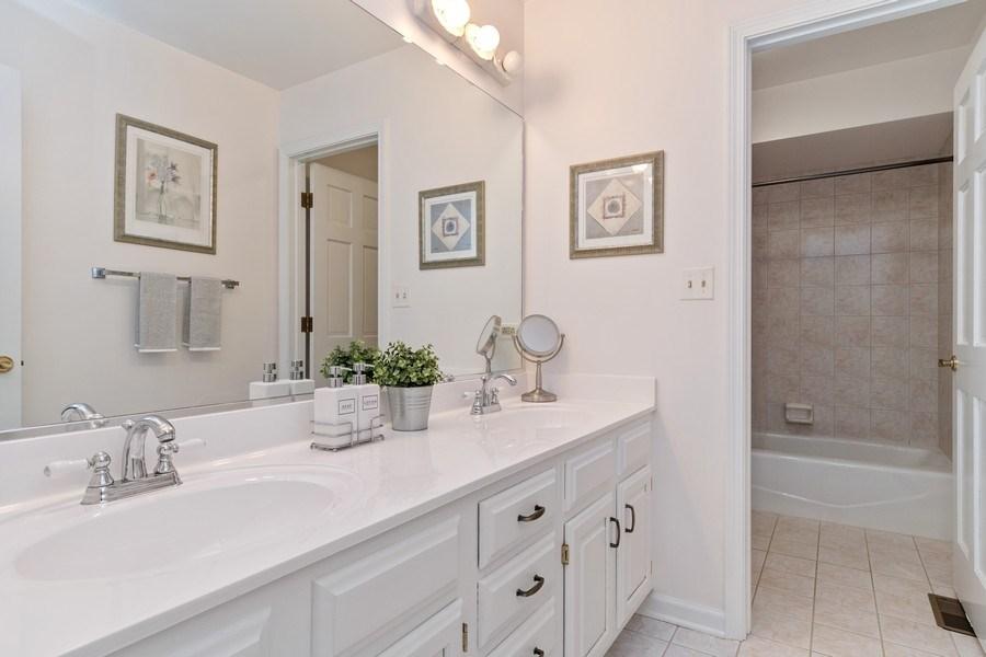 Real Estate Photography - 6308 Snead Court, Woodridge, IL, 60517 - 2nd Bathroom