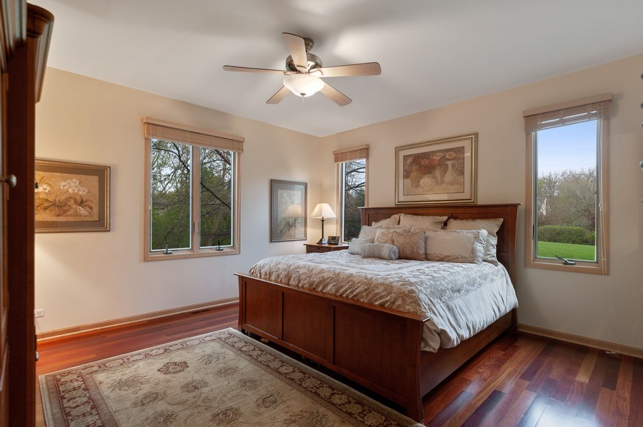 Real Estate Photography - 39716 Orchard Bluff Lane, Wadsworth, IL, 60083 - 1st Floor Bedroom Suite