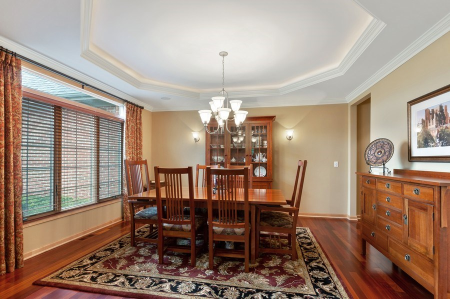Real Estate Photography - 39716 Orchard Bluff Lane, Wadsworth, IL, 60083 - Dining Room