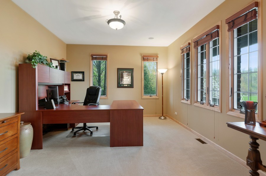 Real Estate Photography - 39716 Orchard Bluff Lane, Wadsworth, IL, 60083 - Office