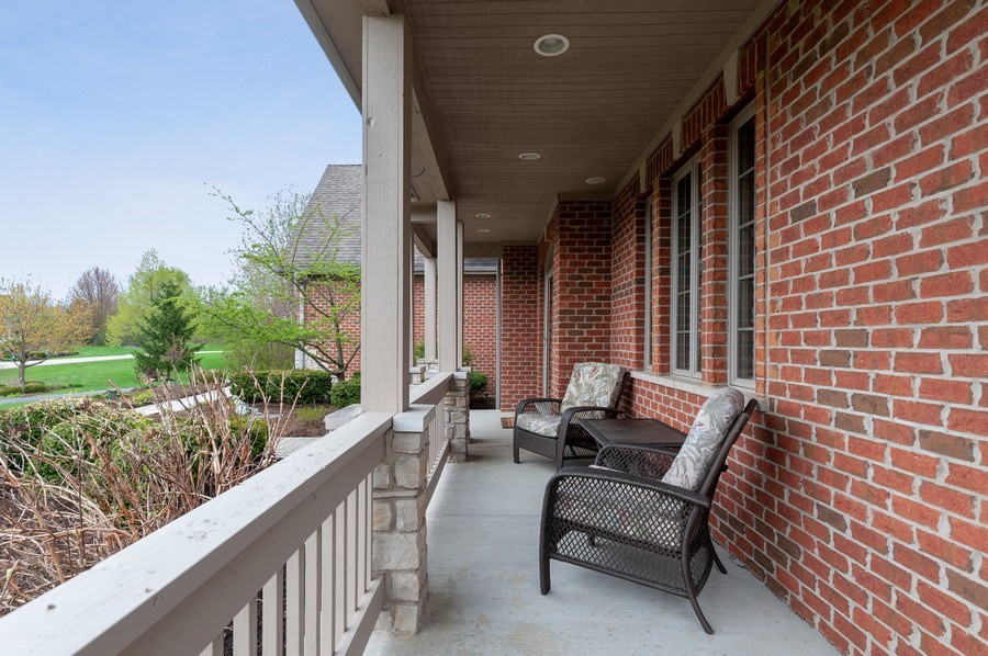 Real Estate Photography - 39716 Orchard Bluff Lane, Wadsworth, IL, 60083 - Front Porch