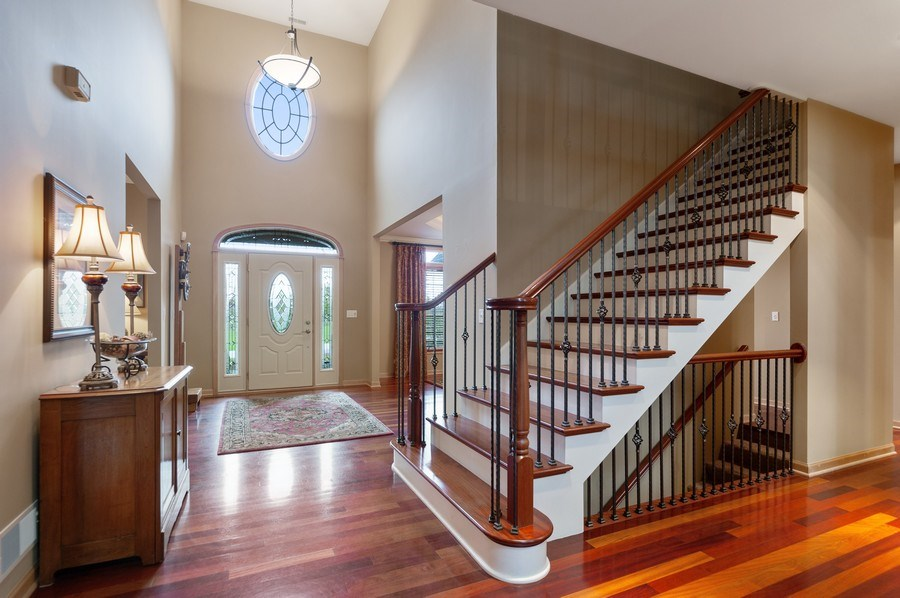 Real Estate Photography - 39716 Orchard Bluff Lane, Wadsworth, IL, 60083 - Staircase