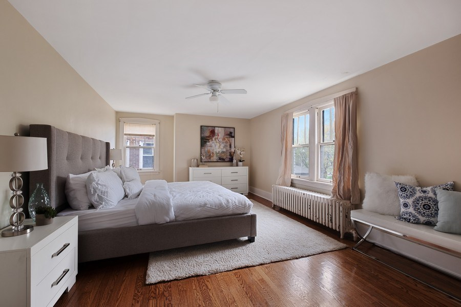 Real Estate Photography - 2447 Birchwood Ln, Wilmette, IL, 60091 - Master Bedroom