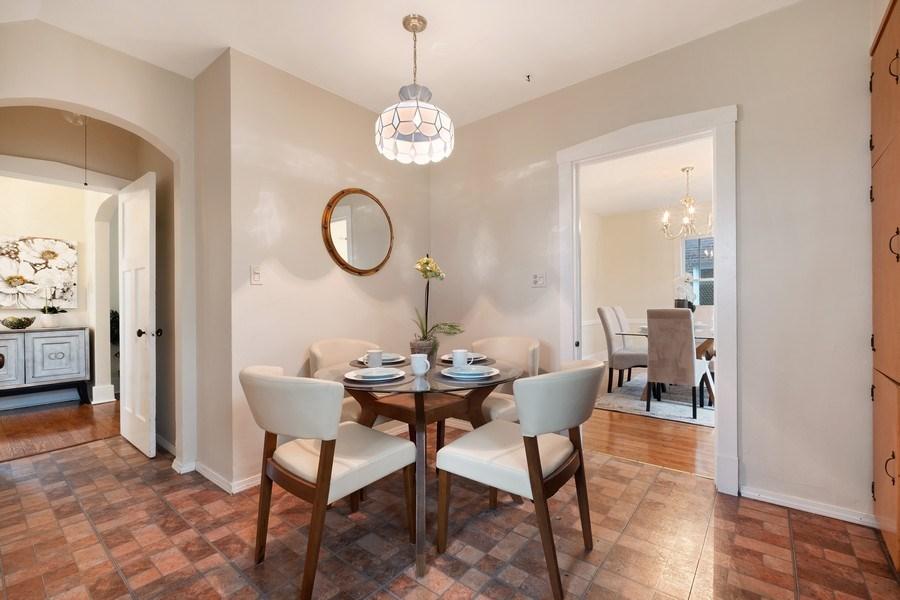 Real Estate Photography - 2447 Birchwood Ln, Wilmette, IL, 60091 - Breakfast Area