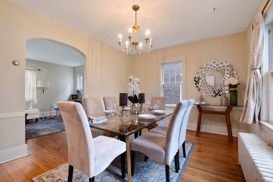 Real Estate Photography - 2447 Birchwood Ln, Wilmette, IL, 60091 - Dining Room