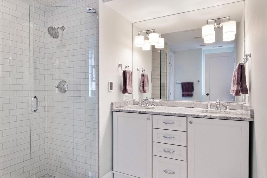 Real Estate Photography - 2757 Ridge Avenue, Evanston, IL, 60201 - Master Bathroom
