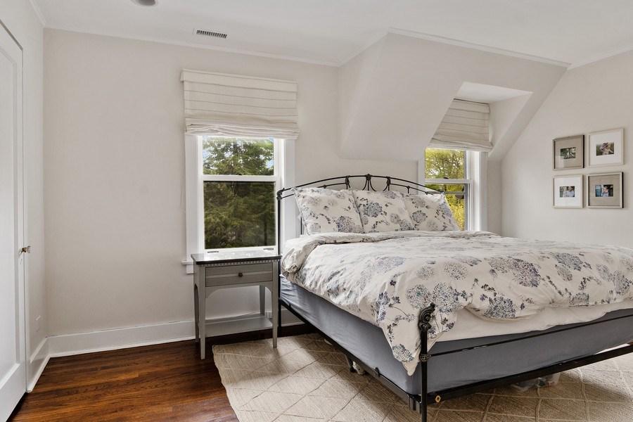 Real Estate Photography - 2757 Ridge Avenue, Evanston, IL, 60201 - Master Bedroom