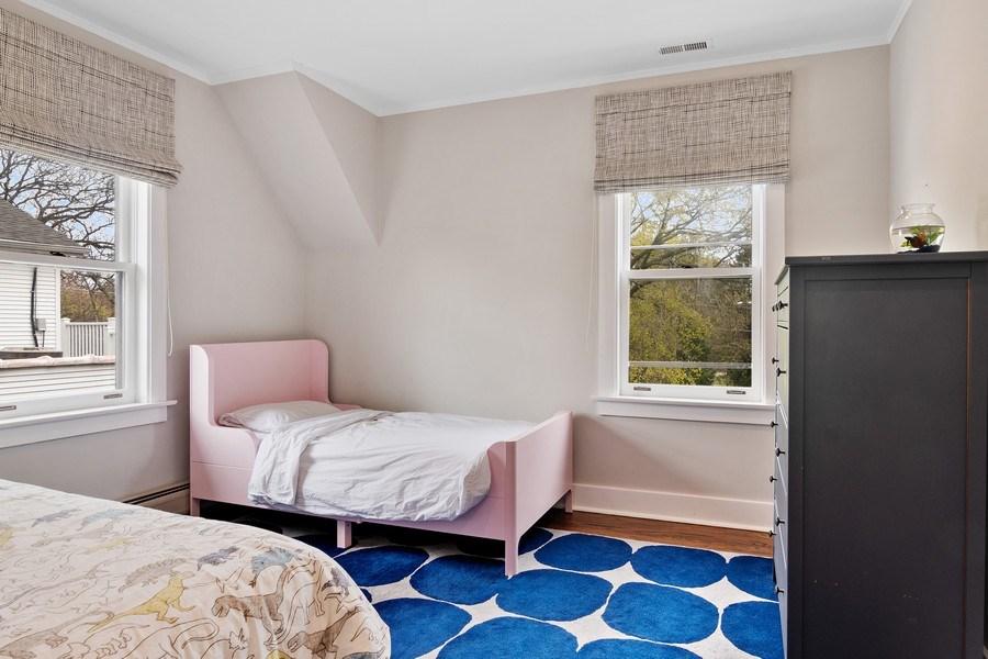 Real Estate Photography - 2757 Ridge Avenue, Evanston, IL, 60201 - Bedroom