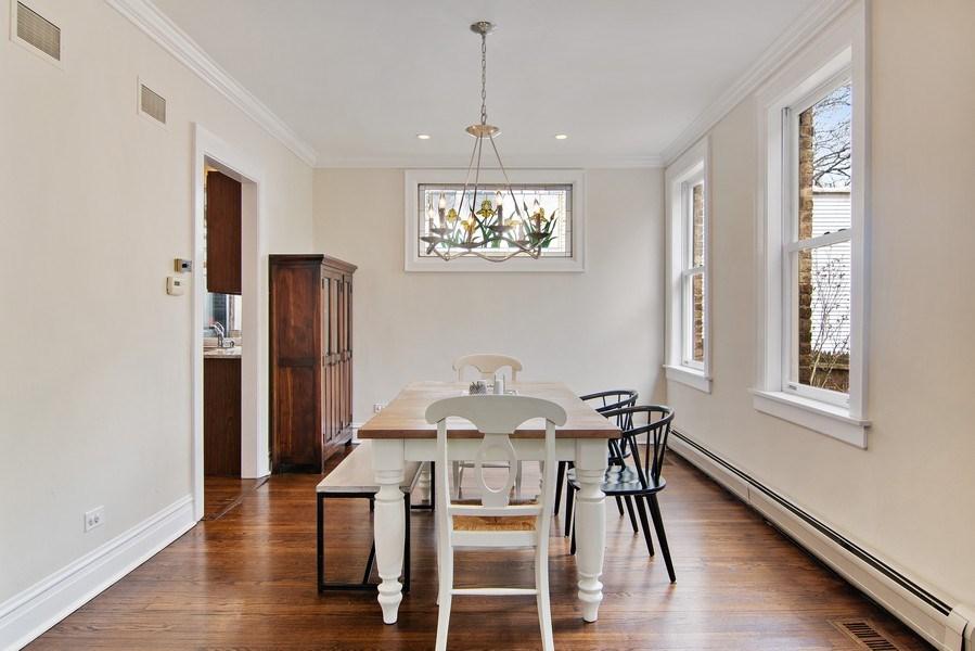 Real Estate Photography - 2757 Ridge Avenue, Evanston, IL, 60201 - Dining Room