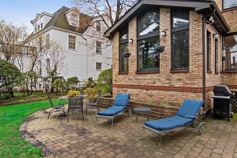 Real Estate Photography - 2757 Ridge Avenue, Evanston, IL, 60201 - Patio
